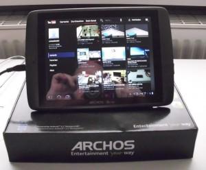 Archos80G9 mit funktionierendem Display